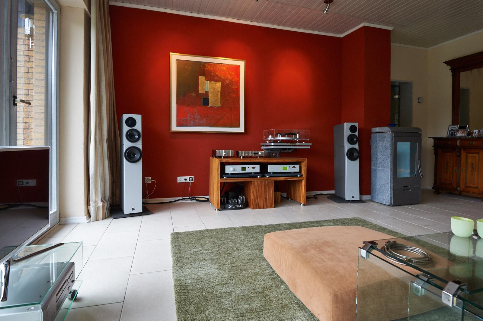 Jeff Rowland Capri S2 - Jeff Rowland M525 - Sehring Audio Systeme S704SE