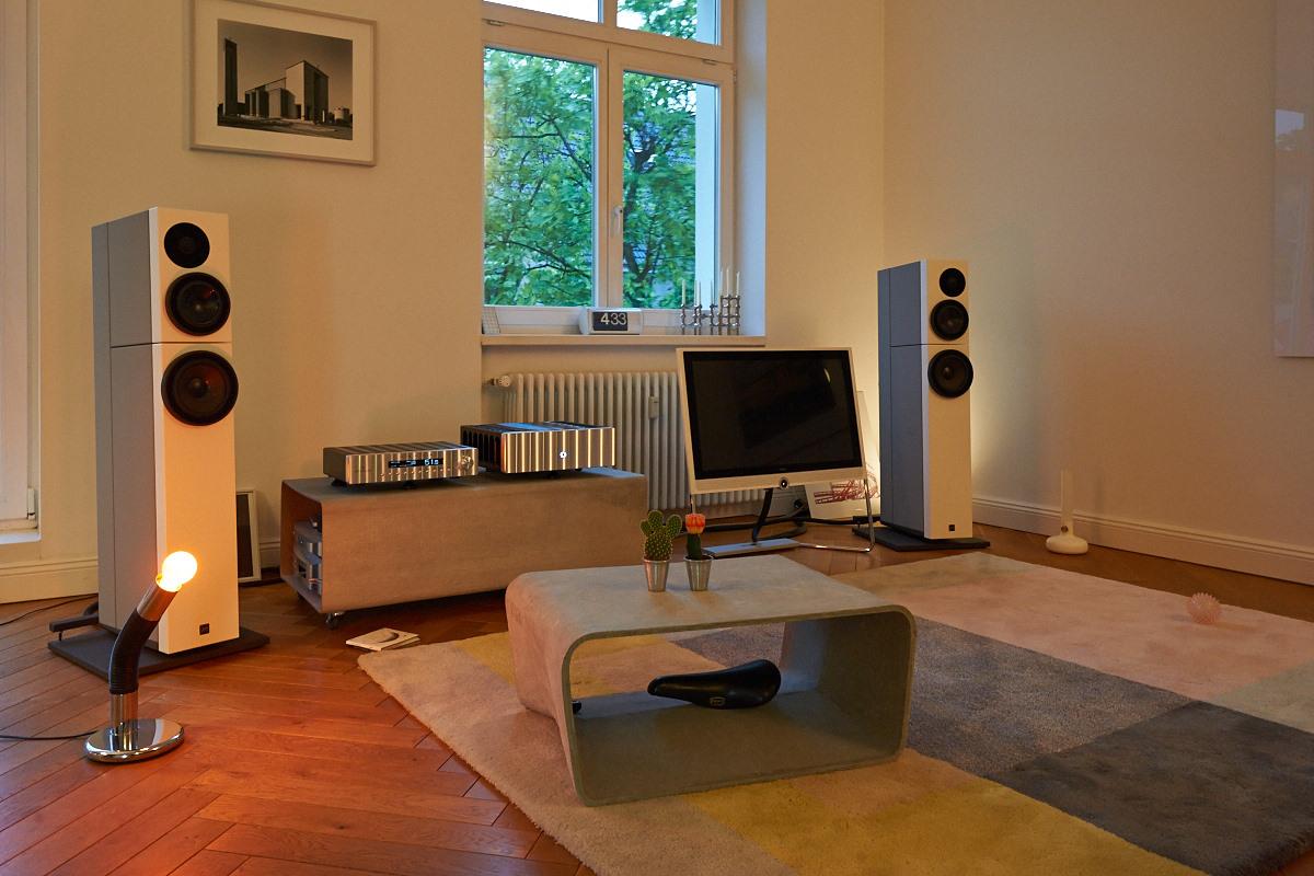 Jeff Rowland Corus - Jeff Rowland Model 625 - dCS Puccini - dCS Puccini U-Clock - Sehring Audio Systeme S704SE