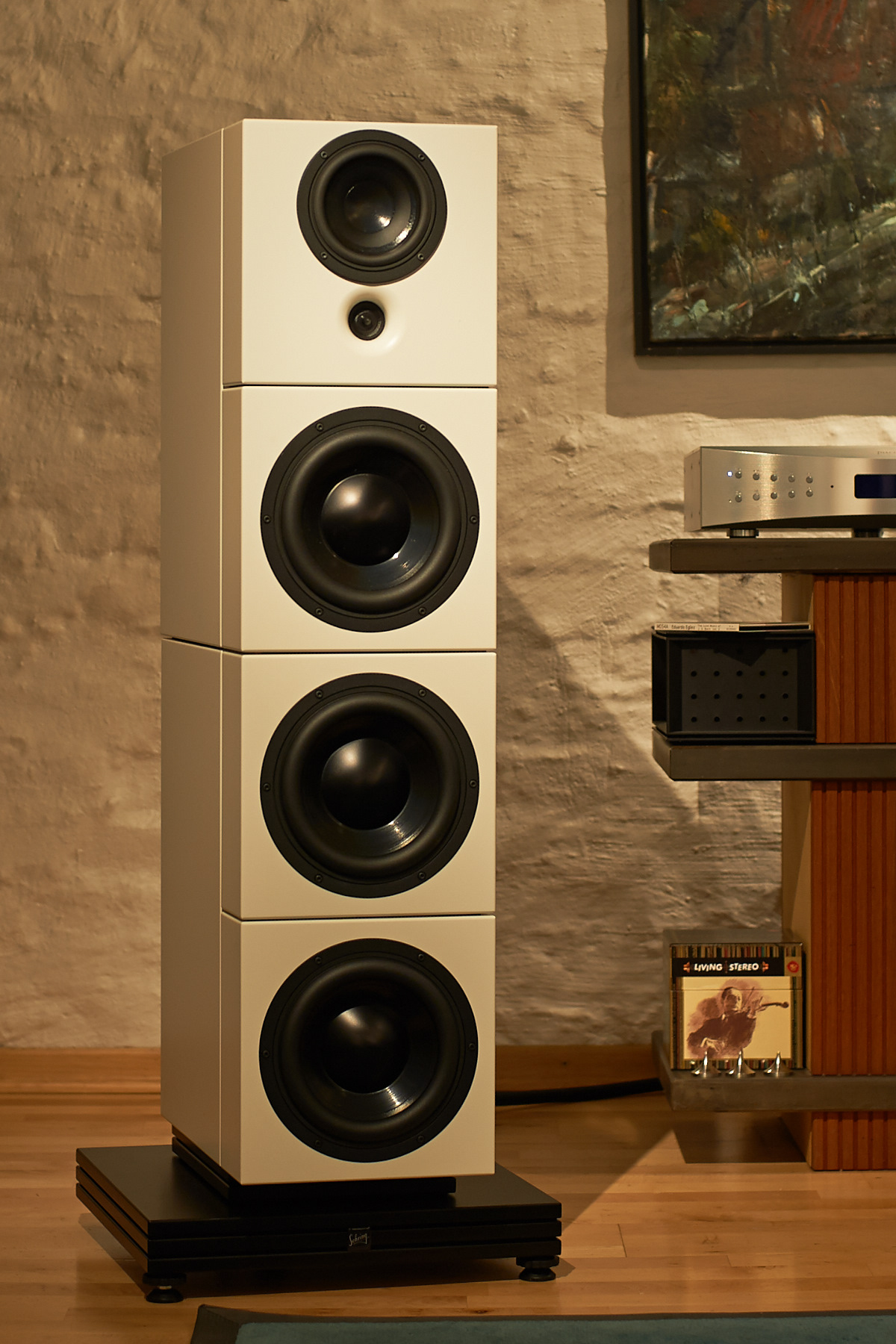 Sehring Audio Systeme Serie 900, Modell 903 B, Mittel-Hochtonmodul Standardposition
