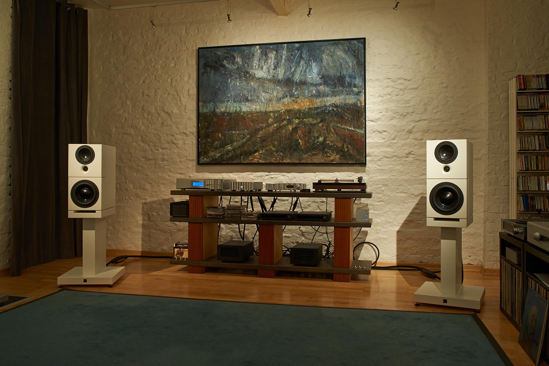 Sehring Audio System 900, Modell 901 STB - Der Monitor auf Bassmodul 1