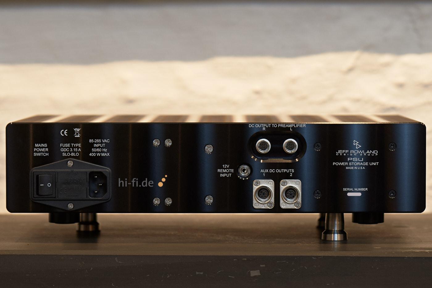 Jeff Rowland PSU Power Storage Unit