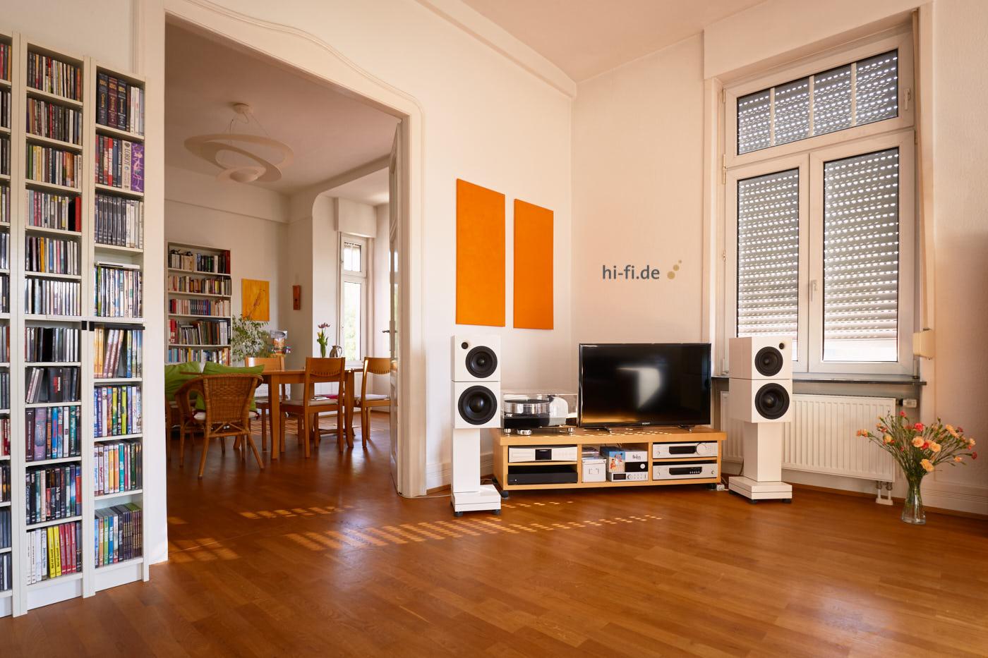 Sehring Audio M 804 auf ST 803 mit B 800