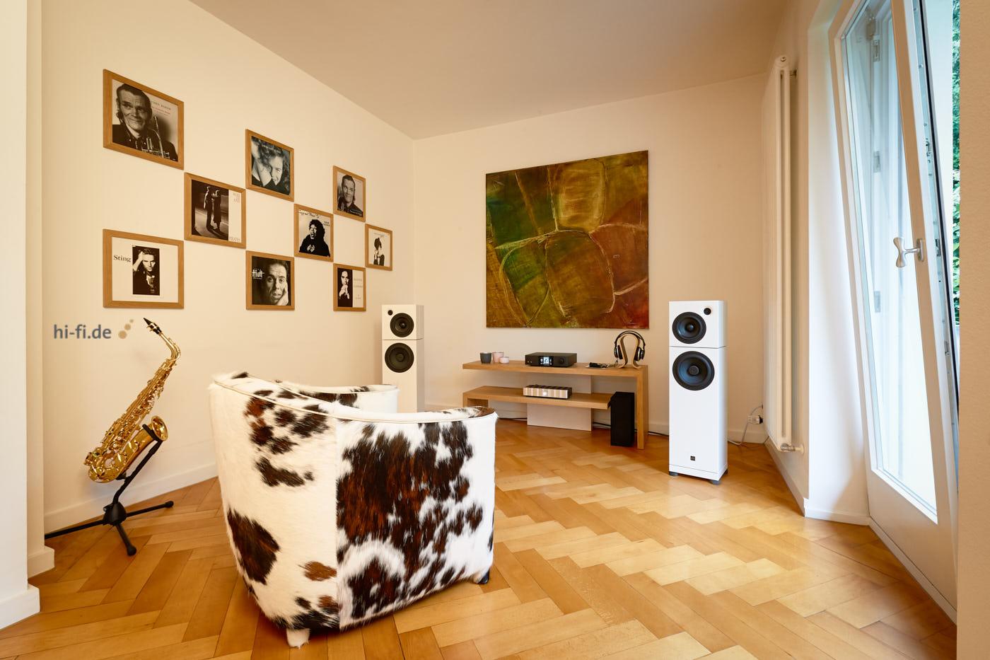 Sehring Audio S 803 Studio - Jeff Rowland Model 125 - Auralic Vega G2